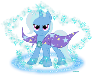 The Great and Very Powerful Trixie ! by mlpAzureGlow