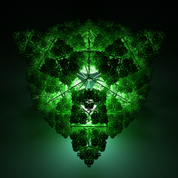 fold the bar three-leaf clover by albertoven