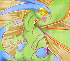 Flygon by Lustrous-Dreams