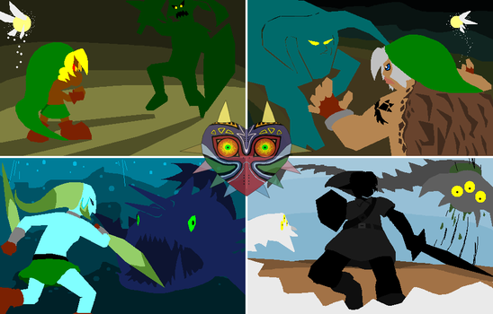 The Battle for Termina by FayeleneFyre