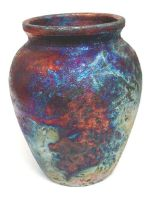 raku vase 2 by crimmy