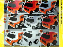 stencil work - Popsicle Truck by mr187