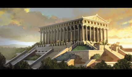 7 wonders artemis temple by MiguelCoimbra