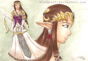The Princess of Light by Xiaomei23