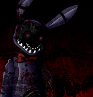 Withered Bonnie by BubbleHermit