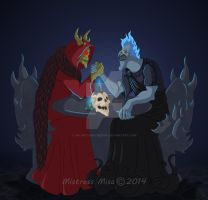 Only One Can Rule The Dead by Stormweaver-Arts