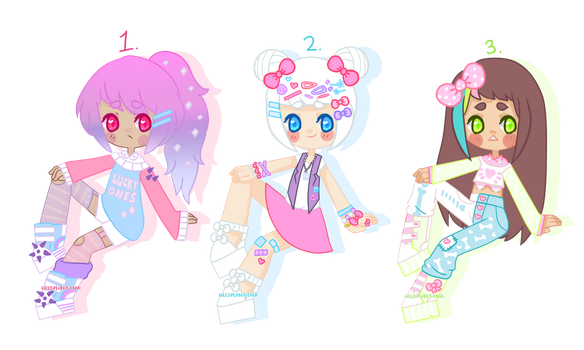 Pastel Adopts [ CLOSED ] by hello-planet-chan