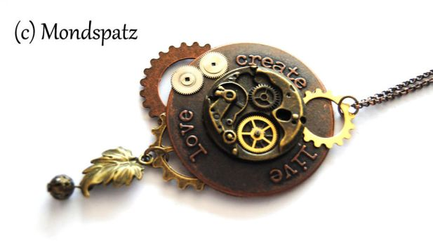 Steampunk pendant create-love-live by Hyo-pon