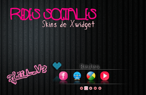 Xwidget Redes Sociales By 3Lxii LoV3 by 3LxiiLov3