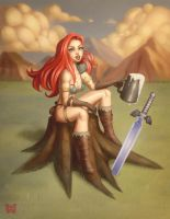 RED SONJA by DocSinistar