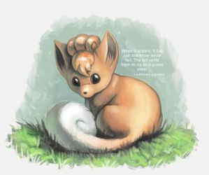 Young Vulpix by Twarda8