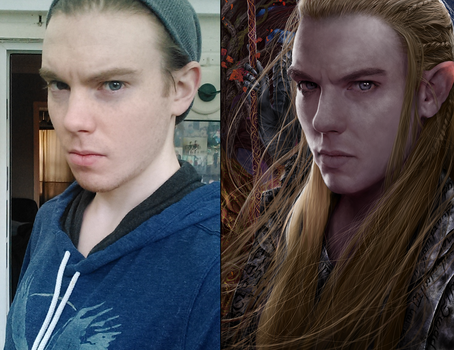 Male Elf Portrait Reference Process by Jay-Carpenter