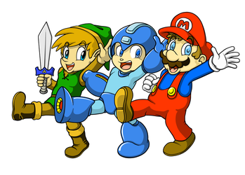 NES Buddies by ProfessorMegaman