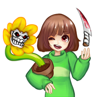 Undertale - Chara by TopDylan