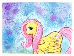 Uncertain Fluttershy by kaikaku