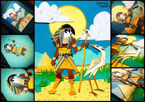Egyptian Themed Art Challenge by CourtneysConcepts