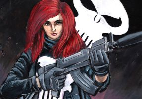 Mary Jane is dead. I'm the Punisher by grim1978