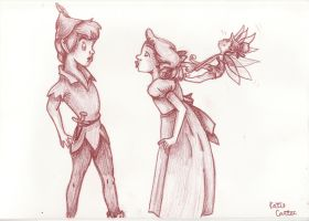 Peter and Wendy and Tink by Kodaprn
