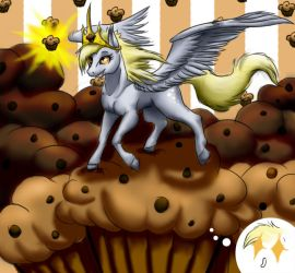 Derpy Hooves by Vick-wolf