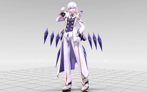 [MMD-Elsword] Add Mastermind DOWNLOAD! by Darknessmagician