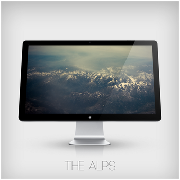 The Alps Wallpaper by zomx