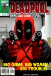 Deadpool Comic Cover by SnuffBomb