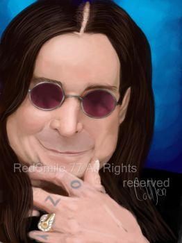 Ozzy Osbourne by RedSmile77