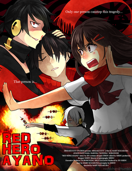 KagePro - Red Hero Ayano by rochichan