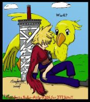 Stopping for a friendly Wark by analoren