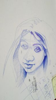 Sketch ballpoint pen 2 by slavoicus