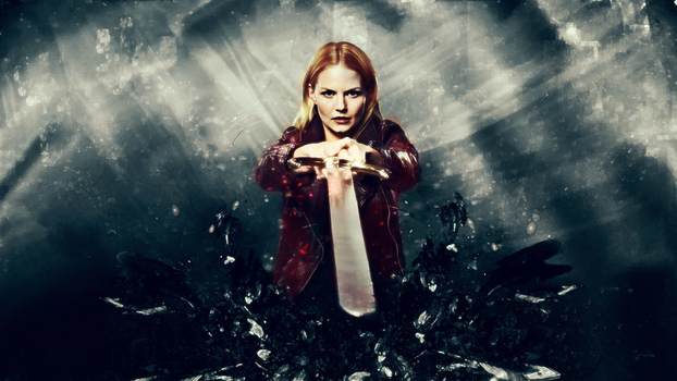 Once Upon A Time Wallpaper - Emma Swan by AyaSolari