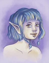 Young Limi for ElectricTwilight by RevanRayWan