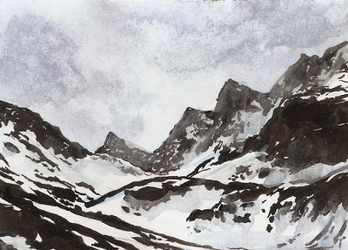 aceo (afa) mountains by kailavmp