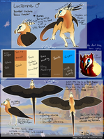 Lucienne Ref Sheet by RehQuQ