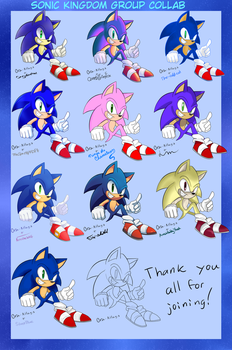 Group collab Sonic Kingdom (Sonic) by Ora-Allagis