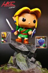 Custom Funko Pop! Link (ver 1.5) by hunterknightcustoms