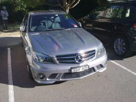 2008 Mercedes Benz C63 AMG by TricoloreOne77