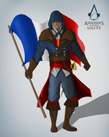 Arno from Assassin's Creed Unity by Fantasyfull