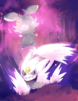 [Day 29] Mega Gengar and Espurr