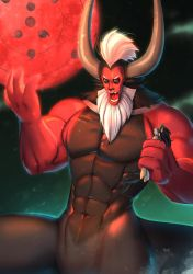 [commission] Rise of Tirek, Fall of Midnight by bakki