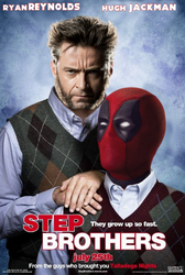 Step Brothers parody poster  by ArkhamNatic