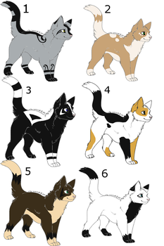 Cat breedables by N1GHTWOLFXD