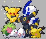 Easter Pokemon (2010) by ChibiAbsol