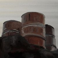 Crude Oil Drums by SamSpruce
