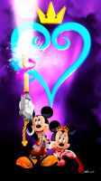 Mickey - kingdom hearts by Dawid-B