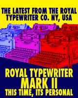 Royal Typewriter Mark II by STCroiss