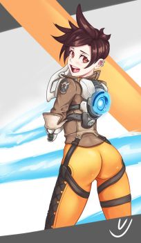 Lena Oxton - Tracer by VJokerBoii