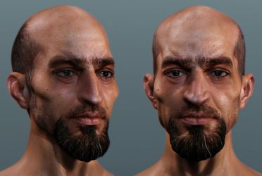 Assassin's creed face by mojette