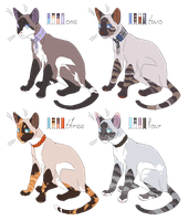 Siamese Cats Auction [Closed] by dial1789