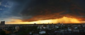 Storm panorama by comsic